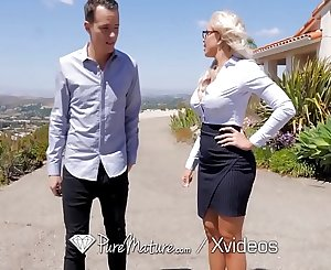 PUREMATURE MILF Real Estate Agent Fucks To Seal The Deal