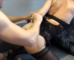 Hoe Wife BoundGets Tied Up and Dicked to Strong Squirting Orgasm