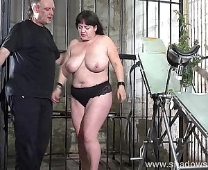 Extreme unexperienced bdsm of whipped and stinging nettle bbw slaveslut Andre