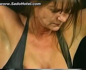 bdsm session with hot mature slave part 2